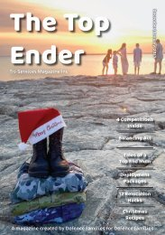 The Top Ender Magazine December January 2021 Edition