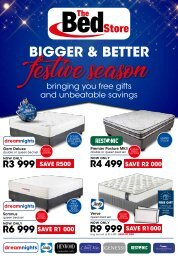 The Bed Store Christmas Catalogue