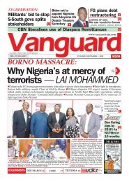 01122020 - Why Nigeria's at mercy of terrorists — LAI MOHAMMED