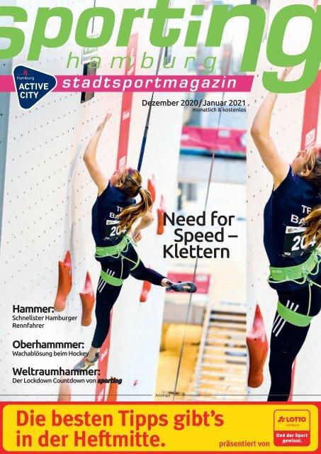 sporting hamburg Dezember 2020 / Januar 2021