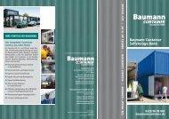 Baumann Container   Flyer Container Selfstorage Bonn