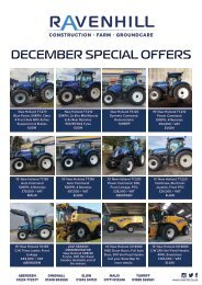 Ravenhill Monthly Featured Machines A4 December 2020