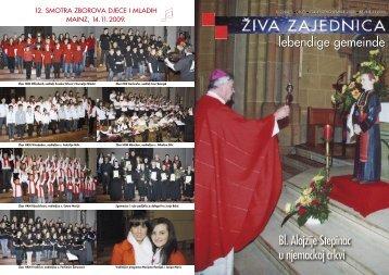 Bl. Alojzije Stepinac u njemačkoj crkvi - Hrvatski dušobrižnički ured ...