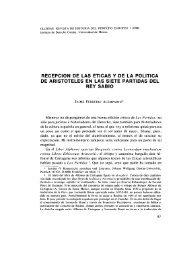 03-Recepcion de las éticas y de la - Digitum - Universidad de Murcia