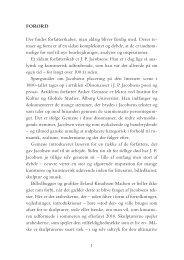 Dissonanser i JP Jacobsens poesi og prosa1