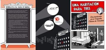 Visualizar DOSSIER (pdf 370KB) - Compañía Clásica de Comedias