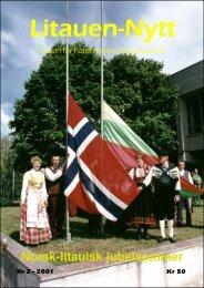 Nr. 2 - Litauen-Nytt - Jan S. Krogh