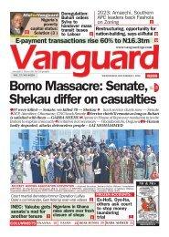 02122020 - Borno Massacre: Senate, 5 Shekau differ on casualties