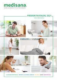 medisana Produktkatalog 2021 - Fachhandel
