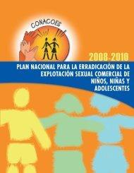 plan nacional para la erradicación de la explotación sexual ...