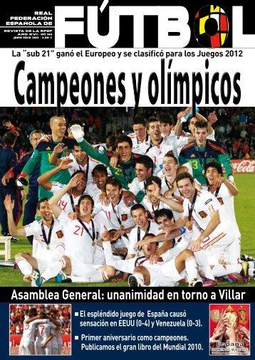 Revista Nº144, junio-julio 2011 - Real Federación Española de Fútbol