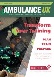 Ambulance UK December 2020