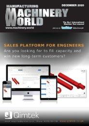Manufacturing Machinery World December 2020