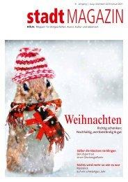 stadtMAGAZIN KÖLN. Ausgabe Dezember-Januar 2020/21