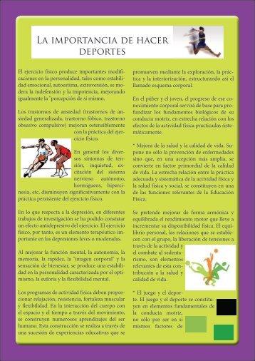 La importancia de hacer deportes - Webnode