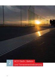 ACO Österreich Preisliste 2021 - Dach-, Balkon- und Terrassenentwässerung