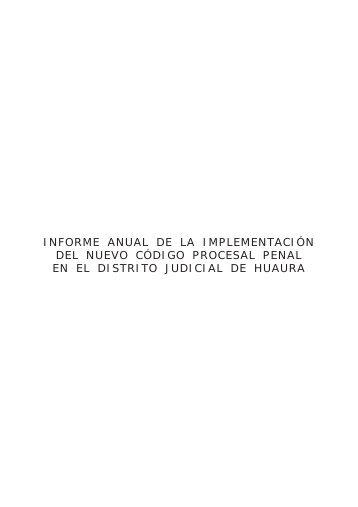 Informe - Ministerio de Justicia y Derechos Humanos del Perú