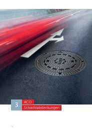ACO Österreich Preisliste 2021 - Schachtabdeckungen