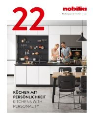 nobilia Küchenjournal 2021