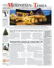 Mountain Times: Volume 49, Number 49-Dec. 2-8, 2020