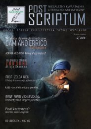 POST SCRIPTUM  4 - 2020