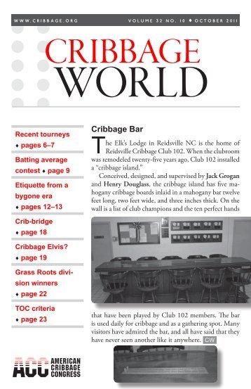 Cribbage Magazines