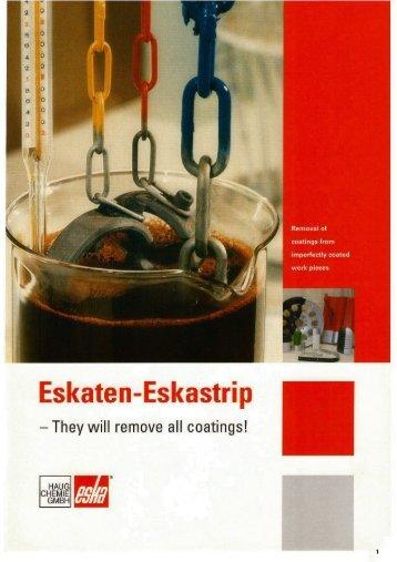 Eskaten-Eskastrip - Haug Chemie GmbH