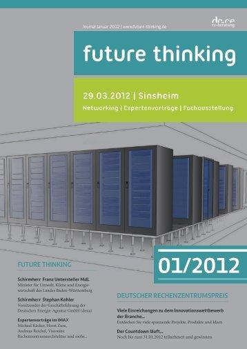 Januar 2012 future thinking Journal downloaden