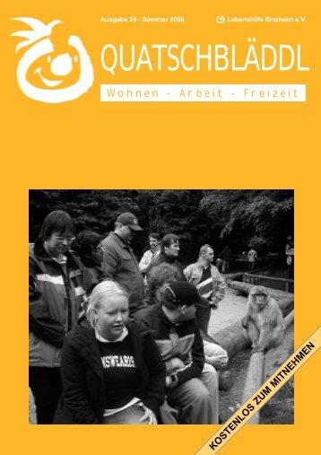 Ausgabe 24 - Kraichgau Werkstatt