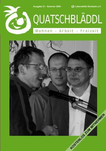 Ausgabe 21 - Kraichgau Werkstatt
