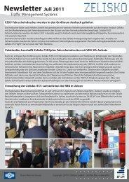 Newsletter Juli 2011 - Zelisko