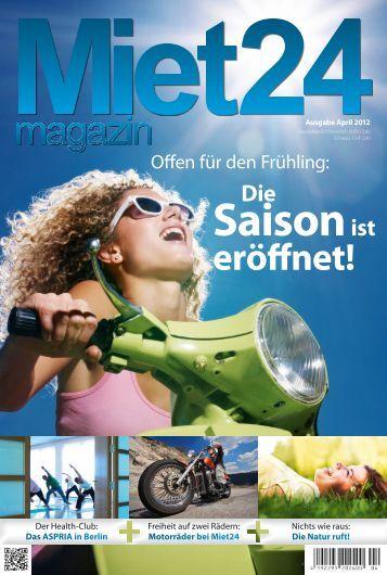 Miet24 Magazin • Ausgabe April 2012