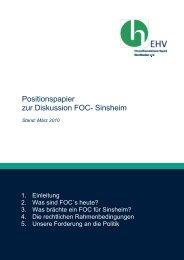 Positionspapier FOC Sinsheim.pdf - Einzelhandelsverband ...
