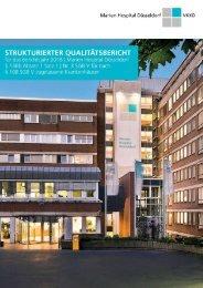 Qualitätsbericht Marien Hospital Düsseldorf 2018