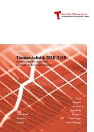 Theaterstatistik 2018   2019