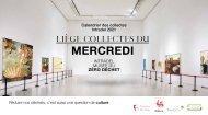 Calendrier des collectes des déchets 2021 du mercredi - Ville de Liège - Intradel