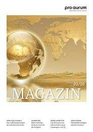 pro aurum Magazin 02/20