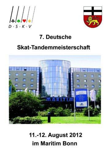Festschrift DTM 2012 - Deutscher Skatverband e.V.