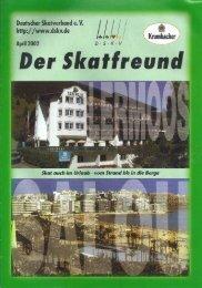 Page 1 Deutscher Skat Imp C C Page 2 Page 3 Page 4 Anzeige 14 ...