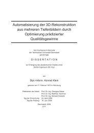 Automatisierung der 3D-Rekonstruktion aus mehreren Tiefenbildern ...