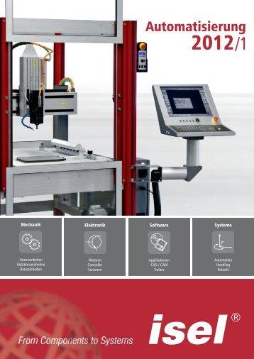 isel Germany // Katalog Automatisierung 2012/1