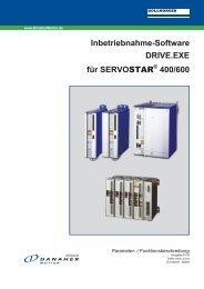 Inbetriebnahme-Software DRIVE.EXE für ... - BIBUS SK, sro