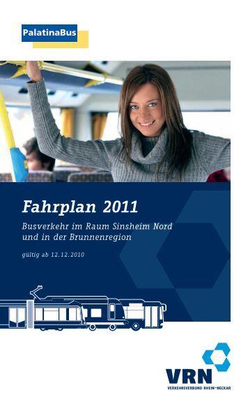 Fahrplan 2011 - VRN Verkehrsverbund Rhein-Neckar