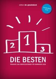 edition der gemeinderat - DIE BESTEN 2020