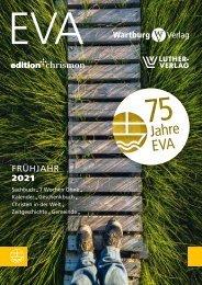 Sachbuchvorschau Evangelische Verlagsanstalt Frühjahr 2021