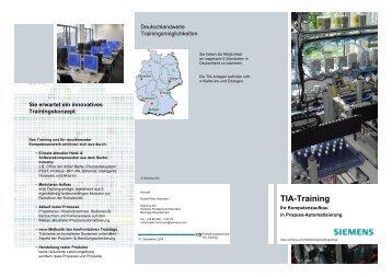 TIA-Training - Siemens