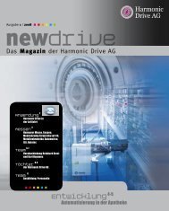 Automatisierung in der Apotheke - Harmonic Drive AG