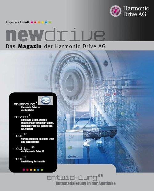 Automatisierung in der Apotheke - Harmonic Drive AG