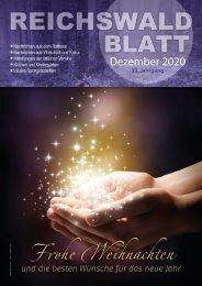 Reichswaldblatt Dezember 2020