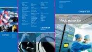 Flyer Komponenten und Lösungen für Medizinalgeräte - Schurter